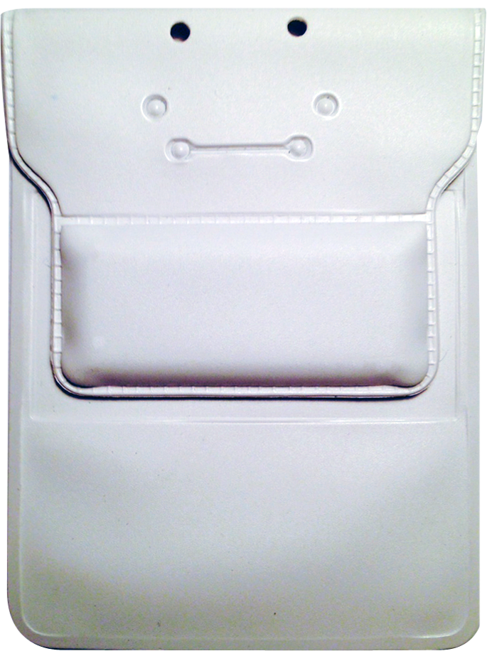 It Also Includes A Clear Plastic Pocket On The Rear To Hold Your Membership Card Or Business Cards